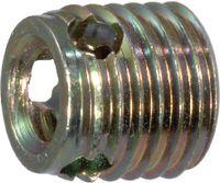Gewinde-Einsätze Ensat<sup>®</sup> Typ 308 Stahl einsatzgehärtet / verzinkt-gelb selbstschneidend, lang M 6 - toolster.ch