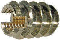 Gewinde-Einsätze Ensat<sup>®</sup> Typ 309 Messing / blank selbstschneidend, für Holz und weiche Kunststoffe M 5 - toolster.ch
