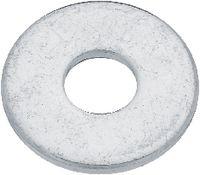 Scheiben Stahl / verzinkt-blau ohne Fase M 6 - toolster.ch