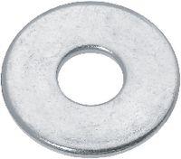 Scheiben Carrosserie Stahl / verzinkt-blau ohne Fase 6 x 20 / 1.5 - toolster.ch