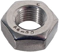 Sechskantmuttern ~0,8d mit metrischem Feingewinde INOX A4 M 8 x 1 - toolster.ch