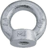 Ringmuttern Stahl C15 E / verzinkt-blau M 10 - toolster.ch