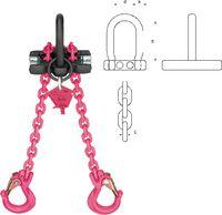 Mini - Lifter 2 Strang, verkürzbar 2 m - toolster.ch