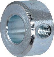 Stellringe Stahl / verzinkt-blau ohne Gewindestift 6 - toolster.ch