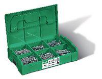 SPAX<sup>®</sup> Senk-Spanplattenschrauben-Montagekasten  Stahl einsatzgehärtet / WIROX<sup>®</sup> mit Gleitschicht L-BOXX, mit Voll- und Teilgewinde und Innensechsrund T-Star Plus small - toolster.ch