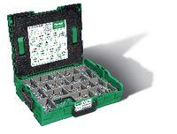 SPAX<sup>®</sup> Senk-Spanplattenschrauben-Montagekasten  Stahl einsatzgehärtet / WIROX<sup>®</sup> mit Gleitschicht L-BOXX, mit Voll- und Teilgewinde und Innensechsrund T-Star Plus large - toolster.ch