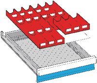 LISTA Einteilungsmaterialsatz 50-300 / 18x27E / 80.378.000 - toolster.ch