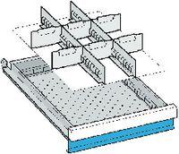 LISTA Einteilungsmaterialsatz 100 / 18x27E / 80.641.000 - toolster.ch