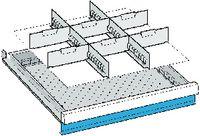 LISTA Einteilungsmaterialsatz 50 / 27x27E / 80.671.000 - toolster.ch