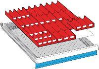 LISTA Einteilungsmaterialsatz 50...300 / 27x36E / 100.284.000 - toolster.ch