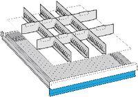 LISTA Einteilungsmaterialsatz 50 / 27X36E / 100.249.000 - toolster.ch