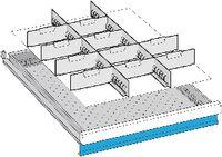 LISTA Einteilungsmaterialsatz 75 / 27x36E / 100.245.000 - toolster.ch