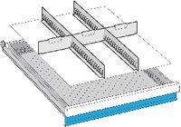 LISTA Einteilungsmaterialsatz 150 / 27x36E / 100.277.000 - toolster.ch