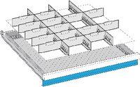 LISTA Einteilungsmaterialsatz 75 / 36x36E / 100.343.000 - toolster.ch