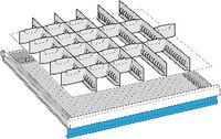 LISTA Einteilungsmaterialsatz 100 / 36x36E / 100.331.000 - toolster.ch