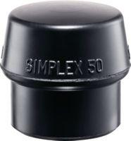HALDER Simplex Ersatzeinsatz Gummi, 40 mm - toolster.ch