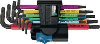 WERA Multicolor-Stiftschlüsselsatz 967/9, 9-tlg. - toolster.ch