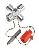 KNIPEX Schaltschrankschlüssel 00 11 02, 44 mm - toolster.ch