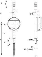 SYLVAC Messuhr digital  S_DIAL WORK BASIC Datenausgang Proximity + Power 50 / 0.001 / S / 7 µm / 1.1...2.6 N - toolster.ch