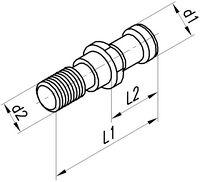 FUTURO Anzugsbolzen mit O-Ring abgedichtet M16/SK40 - toolster.ch