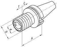FUTURO Mandrin de taraudage JIS-B 6339 BT 40  M3 - M14 - toolster.ch
