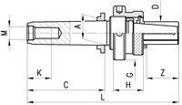 ROEHM Grunddorn RÖHM MKB Typ 241-10 00 / MK2 - toolster.ch