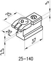 KOPAL MINI CLAMP 25-140 Nutenspanner 2.5-10mm - toolster.ch