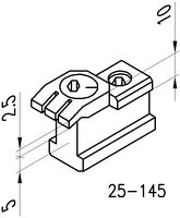 KOPAL MINI CLAMP 25-145 Nutenspanner 7.5-25mm - toolster.ch